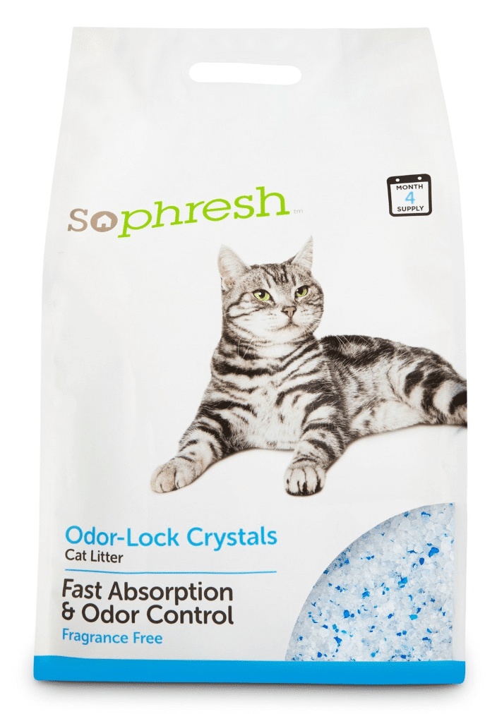 so phresh odor lock cat litter